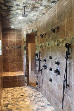 Modern Rustic Shower best 25+ rustic shower ideas only on pinterest | cabin bathrooms