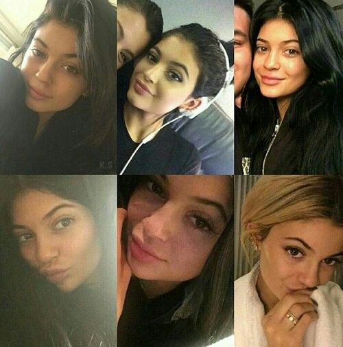 Kylie without make up