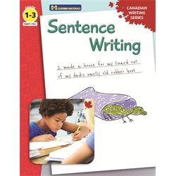 Sentence Writing - Canadian Writing Series Gr. 1-3