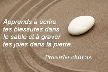Proverbe chinois                                                                                                                                                                                 Plus
