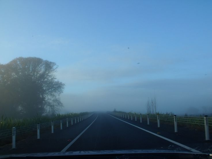 Just another foggy morning on the way to work :)