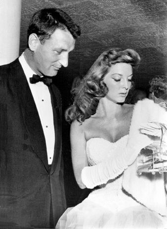 Julie London and Bobby Troup's wedding
