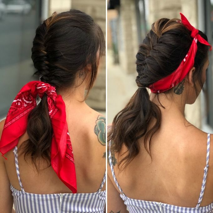 Pinup style is so popular right now. Get the look with this easy hair how to tha…