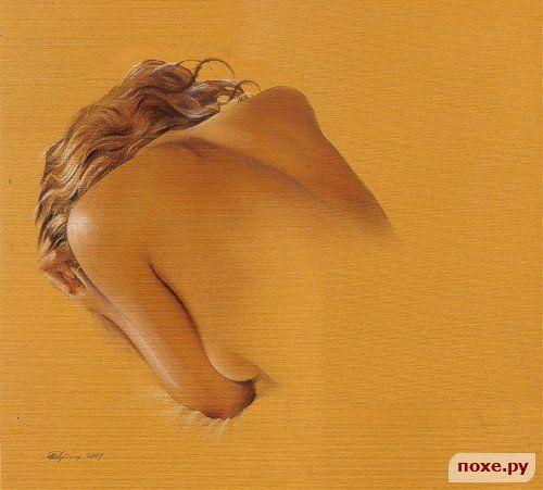 Картины пастелью... Художник Aram Nersisyan