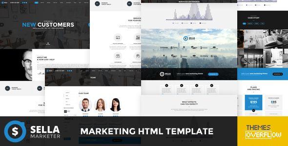 Sella - Marketing HTML Template (Marketing) - http://buyonlinewebsite.com/sella-marketing-html-template-marketing/
