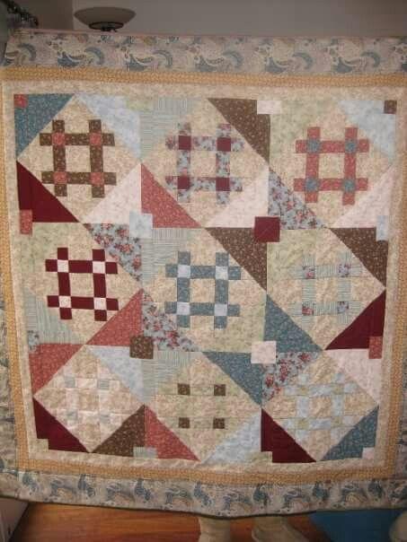 Lago quilt for Mum 2009