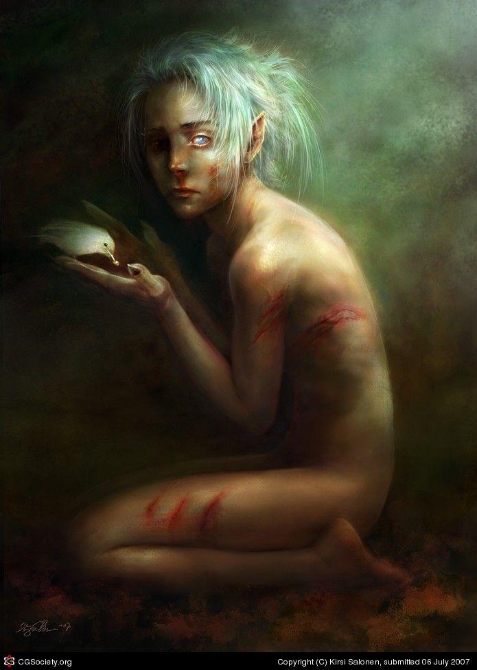 Mature nude fantasy art