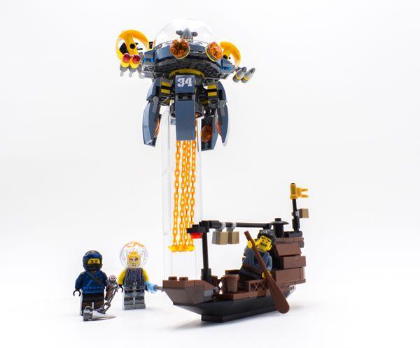 Vite testé : 70610 Flying Jelly Sub: On finit cette série de tests des sets basés sur le film The LEGO Ninjago Movie avec une petite… #LEGO