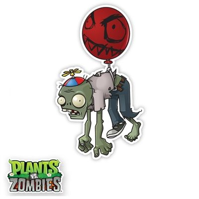 walls 360 wall graphics plants vs zombies balloon zombie httpwww
