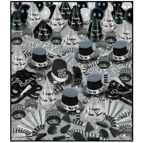 Silver Bonanza New Year's Eve Party Assortment for 100 ...