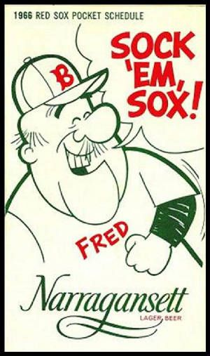 1966 Red Sox Sched