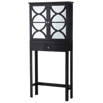 Lattice Over Toilet Etagere Black Home Pinterest