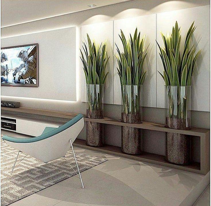 Ein Wohnzimmer ist oft der erste Raum, den wir dek…