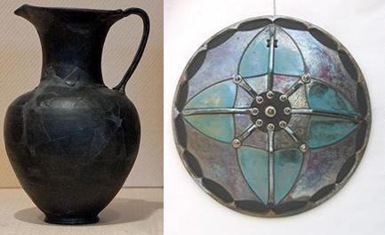 """Enamel decoration on ceramics and raku: The word """"ceramic"""" describes a variety of inorganic clay-based materials which are easy to shape and which become hard after firing. There are many kinds of ceramic: maiolica, earthenware, porcelain, stoneware, pottery.  The application of vitrified colors on ceramics is very different from enameling on metal and requires specific products to face the different expansions and temperatures of this material. Also, the adhesion of glazes on ceramics…"""