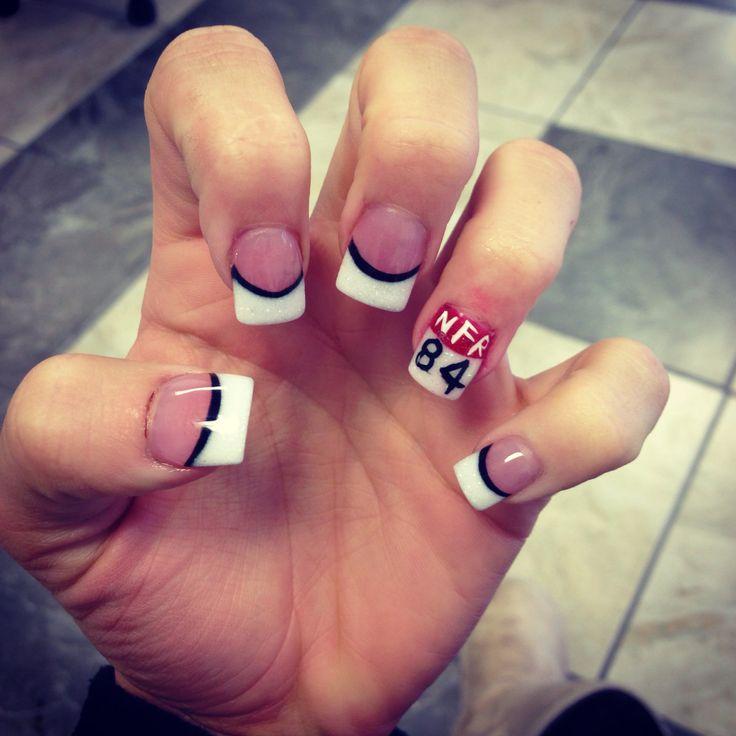Back number NFR nails!!
