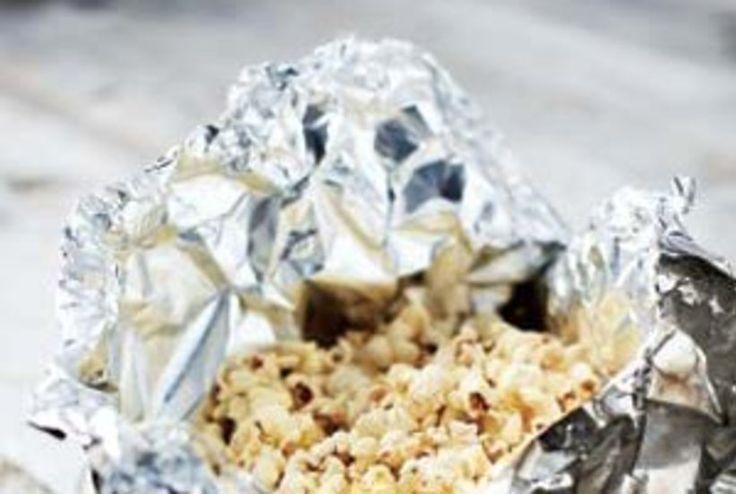 Campfire Popcorn Satchels