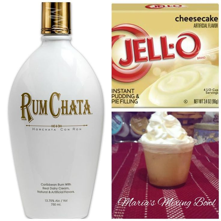 RumChata Cheesecake Pudding Shots arefrozen pudding shots, made with rum! So delicious!! Ingredients 1 pkg instant cheesecake pudding mix 3/4 c milk 3/4 c rum chata rum