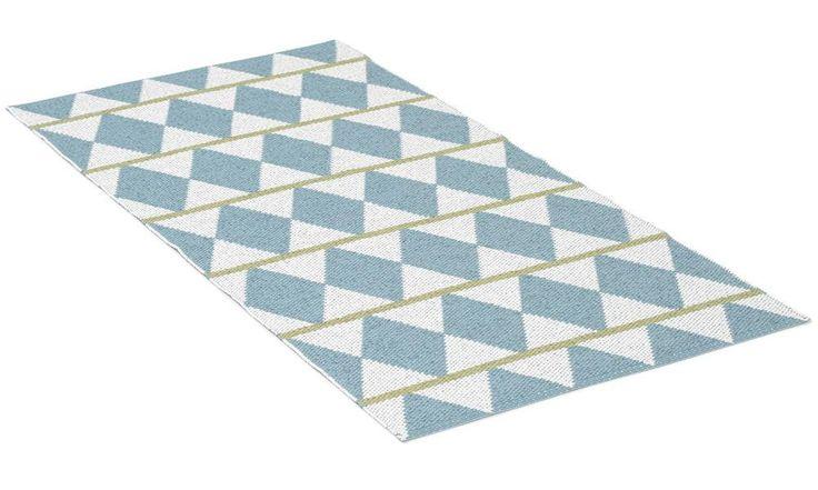 Zigge blå - plastmatta - 1665kr Finns i olika färger