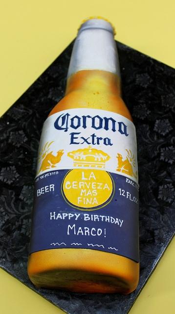 Corona Bottle by Alliance Bakery, via Flickr