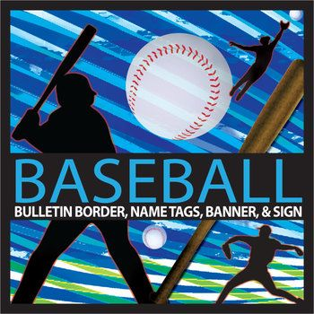 "Sports are an important part of the school experience and a good hook to draw interest in a topic. With this product you can decorate your bulletin boards with baseball themed borders to visually enhance displays, engage students interest, and target themes for certain times of the year, like baseball season or during baseball events at your school.This product includes 1 football bulletin board sized 10.5 X 2.25, 3 editable name tags, ""basketball team"" banner, 1 editable banner, and an…"