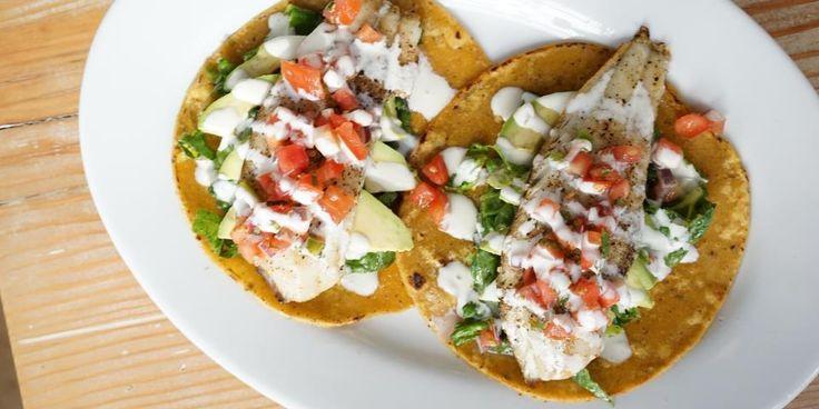 Fit In Hub - Ricetta sfiziosa - Tacos di pesce e fagioli neri