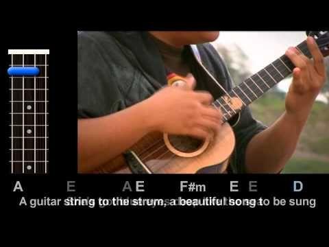 Ukulele » Ukulele Chords Zee Avi Kantoi Music Sheets, Tablature