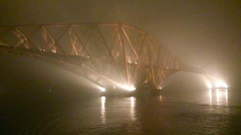 Magnificent Forth rail bridge.