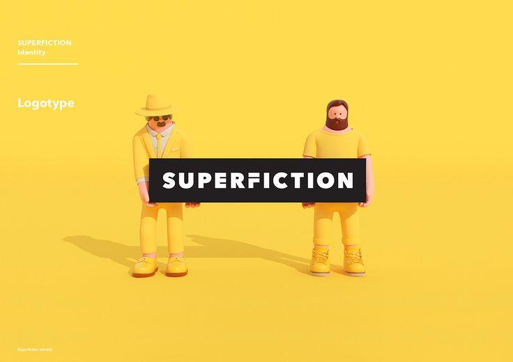 SUPERFICTION Identity Design on Behance
