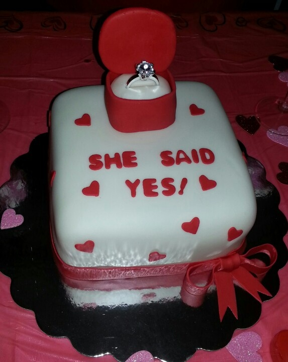 Engagement Party cake Our Creations Pinterest ...