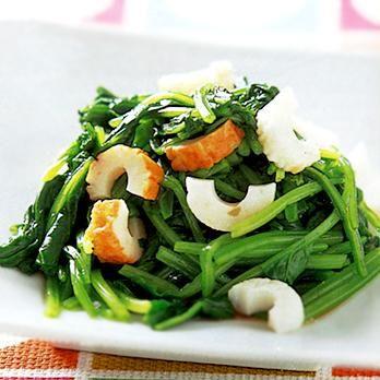 ほうれん草とちくわのあえもの   葛西麗子さんのおつまみの料理レシピ   プロの簡単料理レシピはレタスクラブニュース