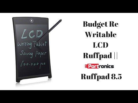 Budget Re Writable LCD Ruffpad || Portronics Ruffpad 8 5