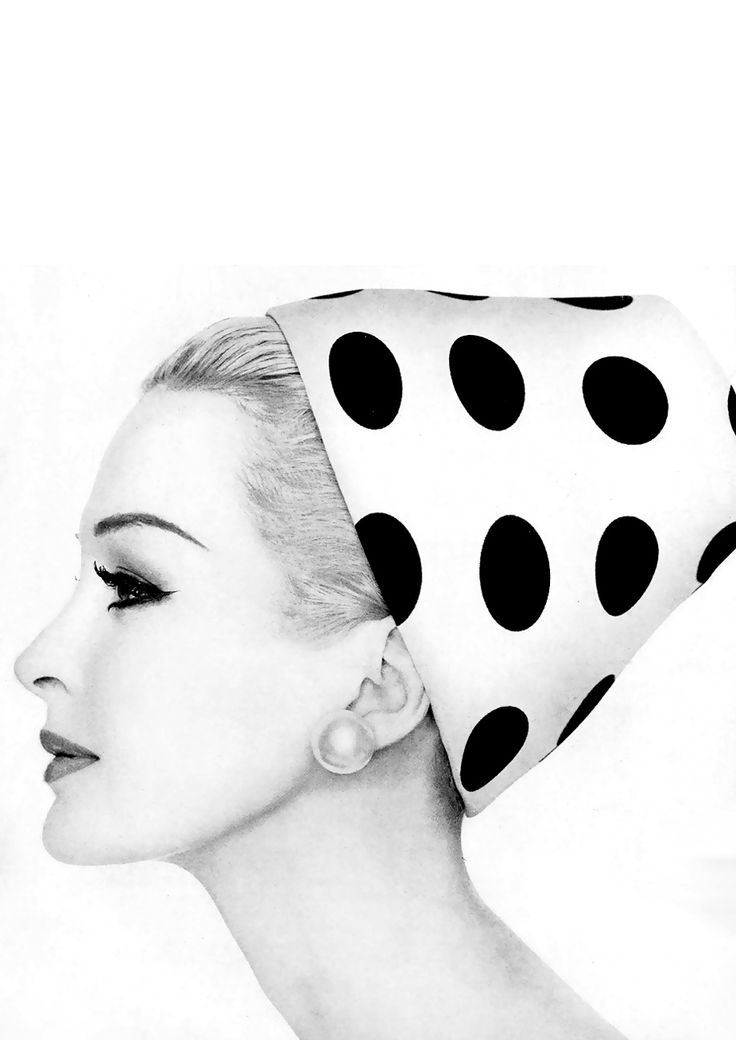 1959. Model Sarah Thom. Hat by Adolfo of Emme. Photo by John French (B1907– D1966)