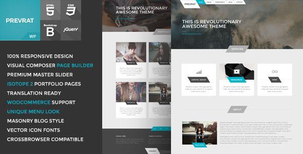 PREVRAT - Creative Portfolio & Agency WP Theme
