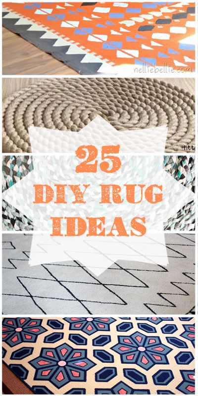 25 DIY Rug Ideas