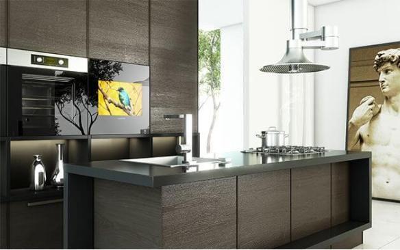 kitchens designed for tvs | @meccinteriors | design bites