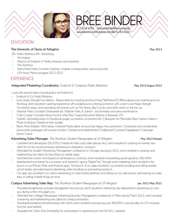 54 best Resume Ideas images on Pinterest Cards, Colors and Cool logo - updated resume