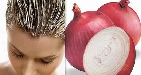 Recette pour pousser les cheveux rapidement avec les oignons rouges!