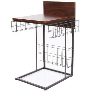 Shop for Multipurpose Wood Computer Desk , Gaming / Writing Desk With Storage Basket . Free Shipping on orders over $45 at Overstock.com - Your Online Furniture Outlet Store! Get 5% in rewards with Club O! - 19777473