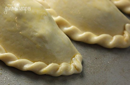 Baked Empanadas -- These were really good! Had to get the Goya Discs ...