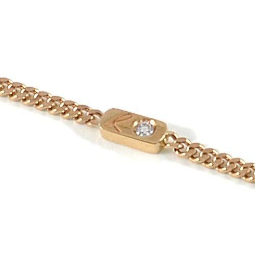 Bellissimo #bracciale #Recarlo in #oro rosa e #diamanti Lunghezza cm. 21, diamante taglio brillante ct. 0,03  $654.00 solo su www.oromoda.net