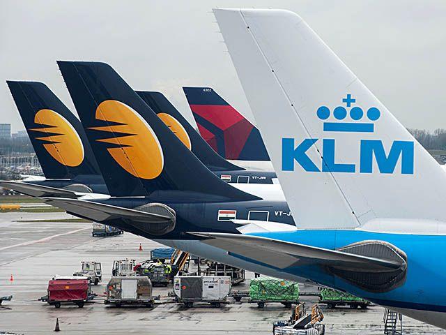 Jet Airways récompensée par l'aéroport Amsterdam-Schiphol