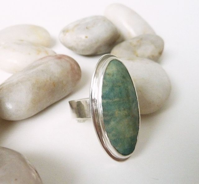 enamel and sterling silver ring | Flickr - Photo Sharing!