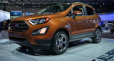 Ford Baby-SUV das neue EcoSport landet in der US Ford Ford EcoSport Galleries LA Auto Show New Cars