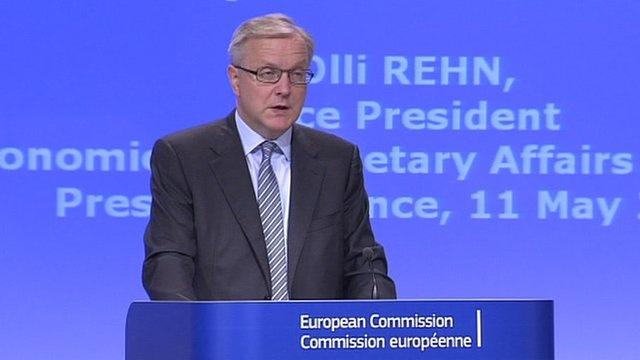 Eurozone economy to shrink by 0.3%, EU Commission says