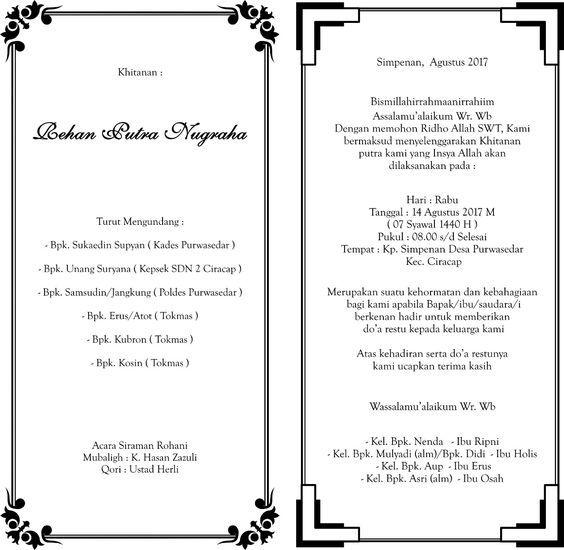 30++ Penulisan almarhum yang benar di undangan information