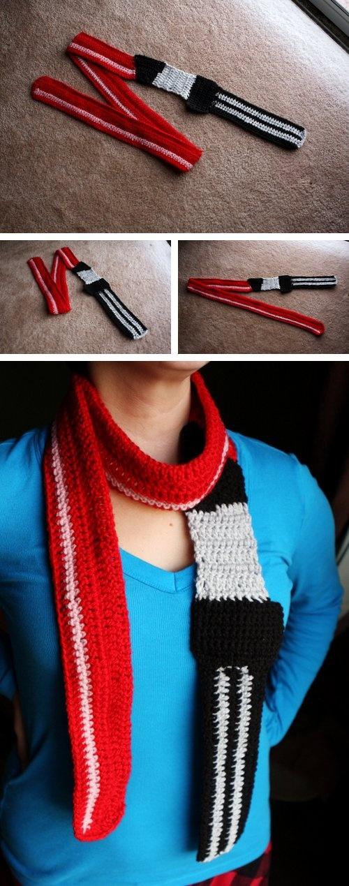 Light Sabre scarf - *Inspiration*