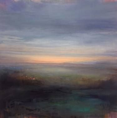 "Saatchi Art Artist Clare Doveton; Painting, ""End of Summer"" #art"
