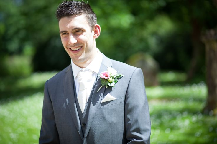 Portrait of the groom just before the ceremony held at a beautiful little church within the grounds of Orchardleigh House near Bristol/Bath. Wedding photography from Jacob McCarthy Photography covering Wales and the South West,  See more at: www.jacobmccarthy.co.uk www.facebook.com/jacobmccarthyphotography