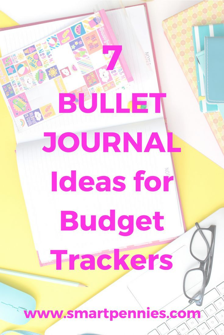 7 Fabulous Bullet Journal Tracker For Budgeting That You Can Use