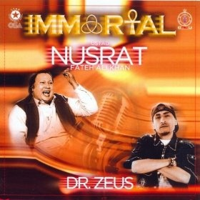 Totally loving the Sukh Dukh track. Now playing. Ustad nusrat fateh ali khan. Dr. Zeus remix.